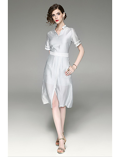 Women's Holiday Going out Vintage Casual Sheath Dress