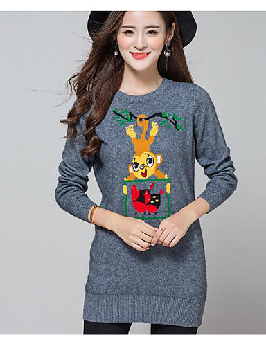 Women's Going out Casual Regular Pullover