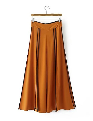 Women's High Rise Micro-elastic Loose Wide Leg Pants,Sexy Street chic Solid Summer