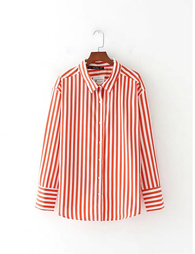 Women's Going out Daily Casual Sexy Street chic Spring Fall Shirt