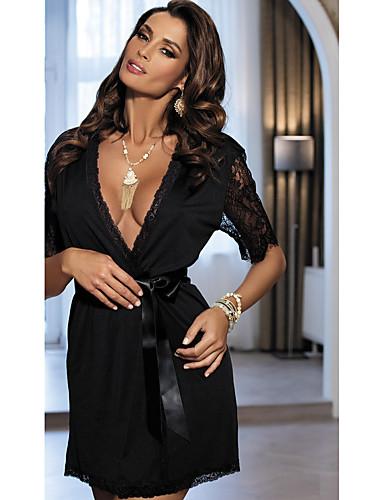 Women's Sexy Ultra Sexy Nightwear Jacquard