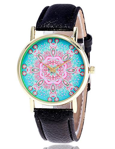 Herre Selskapsklokke Moteklokke Armbåndsur Unike kreative Watch Hverdagsklokke Simulert Diamant Klokke Kinesisk Quartz PU BandVedhend