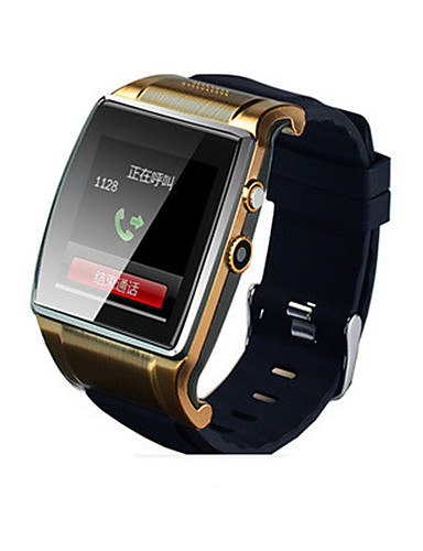 Men's Women's Smart Watch Fashion Watch Digital Water Resistant / Water Proof Rubber Band Black Brown