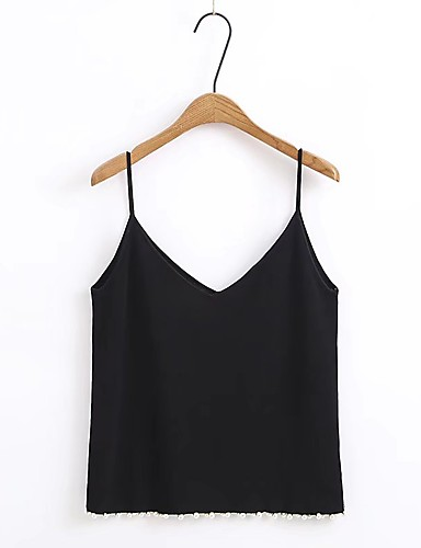 Women's Holiday Going out Daily Casual Sexy Street chic Spring Fall Tank Top