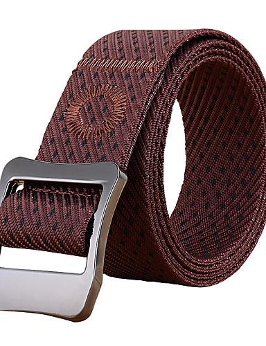 Men's Alloy Waist Belt - Jacquard, Jacquard