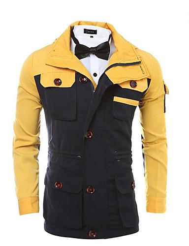 Men's Simple Jacket Print