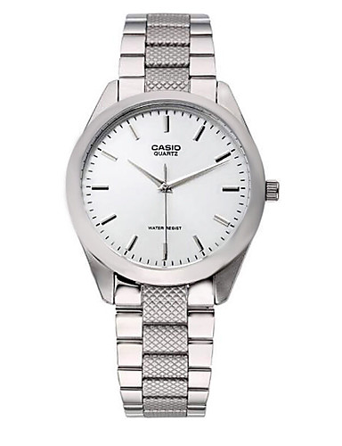 Casio Damen Modeuhr Armbanduhr Armbanduhren für den Alltag Japanisch Quartz Wasserdicht Edelstahl Band Bettelarmband Bequem Elegante