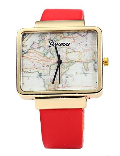 Herrn Modeuhr Armbanduhr Armbanduhren für den Alltag Chinesisch Quartz Leder Band Freizeit Cool Schwarz Weiß Rot Braun