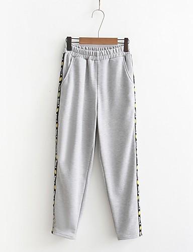 Damen Street Schick Mittlere Hüfthöhe Mikro-elastisch Lose Jogginghose Hose,Andere Ganzjährig Solide Patchwork camuflaje