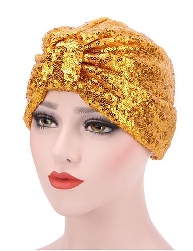 قبعة مرنة زهري طباعة قطن, قبعة للمرأة