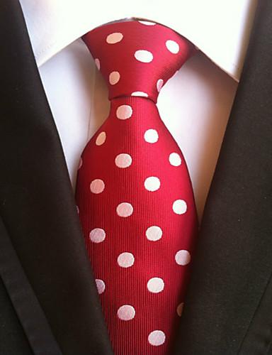 Men's Work Basic Necktie - Polka Dot