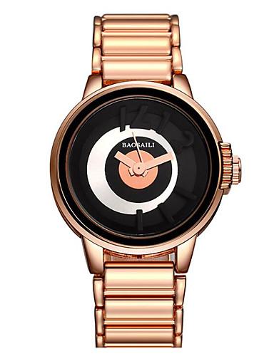 Damen Modeuhr Japanisch Armbanduhren für den Alltag Legierung Band Charme Gold / Rotgold / Ein Jahr