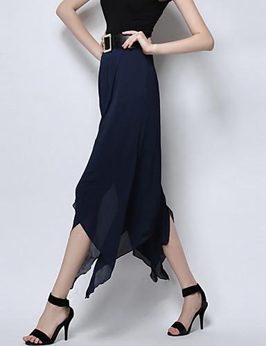 Women's Mid Rise Inelastic Culotte Pants,Vintage Street chic Wide Leg Solid