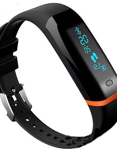 Men's Women's Sport Watch Fashion Watch Dress Watch Digital 30 m Water Resistant / Water Proof Heart Rate Monitor Touch Screen PU Band Digital Charm Luxury Bangle Multi-Colored - Black / Bluetooth4.0