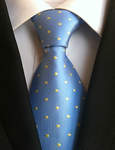 Férfi Pöttyös Munkahelyi Alap - Nyakkendő