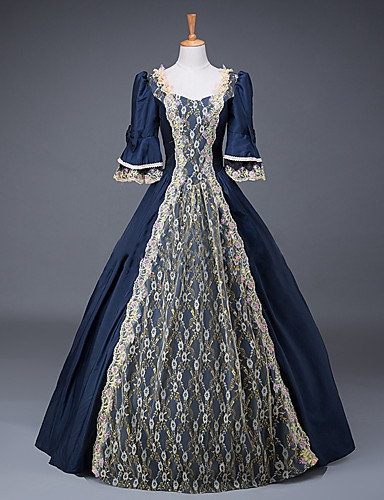 4a957a41787b Cinderella Queen Victoria Goddess Dress Cosplay Costume Masquerade Ball  Gown Adults' Women's Rococo Medieval Renaissance Party Prom Christmas  Halloween ...