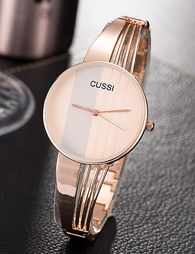 Women's Wrist Watch Quartz Silver / Rose Gold Creative Casual Watch Cool Analog Ladies Charm Luxury Casual Fashion - Silver Rose Gold One Year Battery Life / SSUO 377