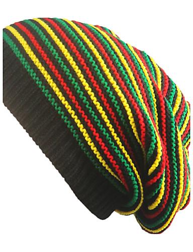 Uniszex Szivárvány Tiszta szín Kalap - Széles karimájú kalap