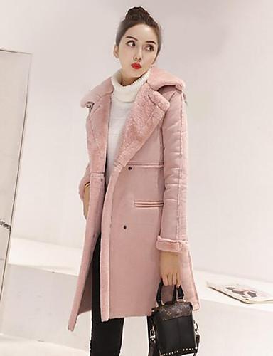 Egyszerű Női Kabát - Egyszínű