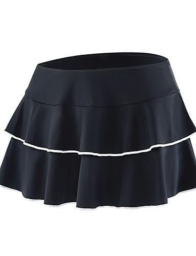 cheap Cycling Clothing-cheji® Women's Cycling Skirt Bike Shorts Skirt Padded Shorts / Chamois Quick Dry Sports Stripes White / Black / Pink Road Bike Cycling Clothing Apparel Relaxed Fit Bike Wear