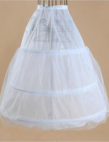 preiswerte Unterröcke für Hochzeitskleider-Hochzeit Party/Cocktail Unterhosen Acryl Tüll Wadenlänge Grundlegend Mit