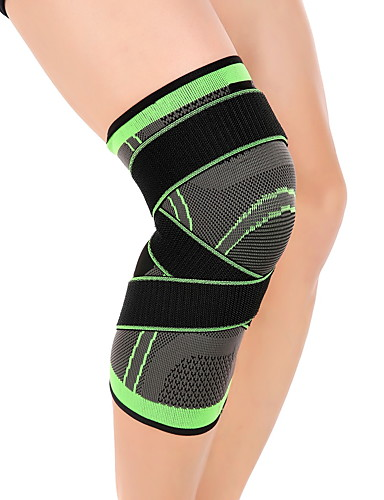cheap Running & Trail-Knee Brace Thigh Support for Hiking Cycling / Bike Running Adjustable Compression Stretchy Unisex Nylon Lycra Spandex 1pc Sport Athleisure