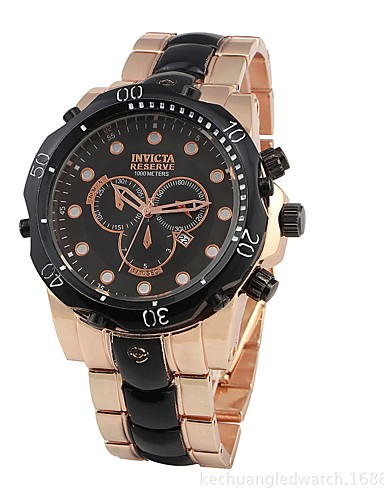 Men's Wrist Watch Quartz Water Resistant / Water Proof Calendar / date / day Creative Stainless Steel Band Analog Charm Casual Fashion Silver / Rose Gold - Silver Rose Gold