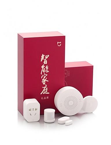 ieftine Consumer Electronics Special Deals-xiaomi mijia smart home kit gateway fereastră senzori de ușă senzor de corp wireless switch mi 5 în 1 smart home security kit