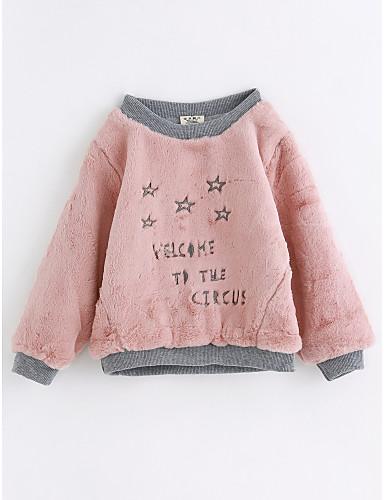 Baby Mädchen Muster Langarm Baumwolle Bluse
