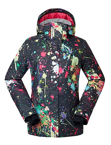 fa60e9f7 GSOU SNOW Women's Ski Jacket Waterproof Windproof Warm Skiing Ski /  Snowboard Eco-friendly Polyester Silk Cloth Down Jacket Ski Wear / Winter