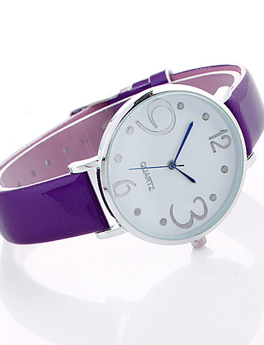 Women's Sport Watch / Wrist Watch Creative / Cool Alloy Band Charm / Luxury / Casual Black / Grey / Purple / One Year / SSUO LR626