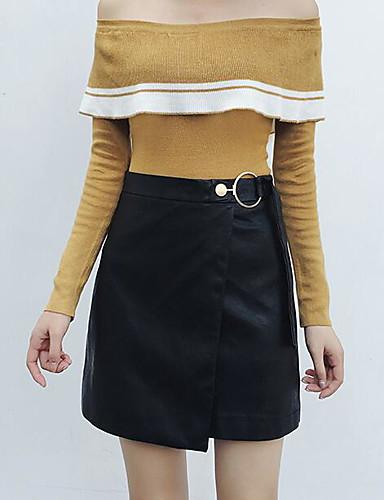 Damen Mini Röcke A-Linie