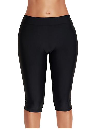 Espressive Per Donna Taglie Forti Essenziale Con Bretelline Nero Blu Marino Slip, Shorts E Pantaloni Costumi Da Bagno - Tinta Unica Xxl Xxxl Xxxxl Nero #06538670
