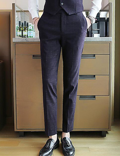 בגדי ריקוד גברים בסיסי Business מכנסיים אחיד