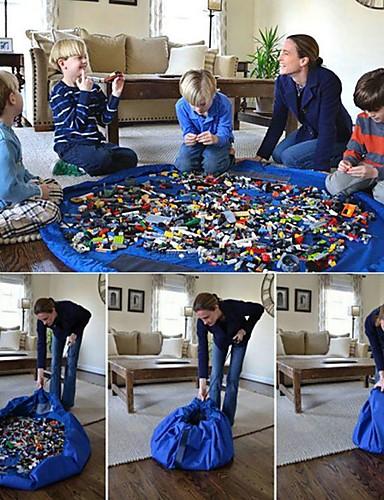 voordelige Speelgoedgereedschap-Speelgoed opbergtas Mat Draagbaar Groot formaat Zacht Plastic Kinderen Speeltjes Geschenk 1 pcs