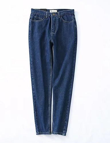 מכנסיים אחיד ג'ינסים וינטאג' בגדי ריקוד נשים