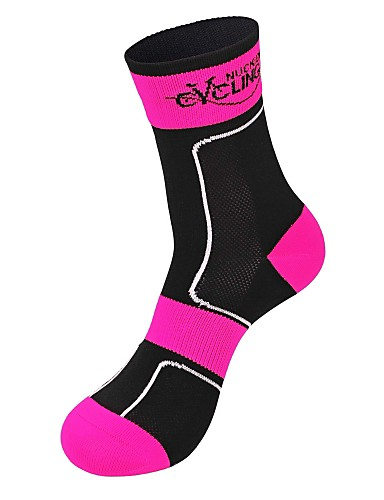 cheap Cycling Clothing-Compression Socks Sport Socks / Athletic Socks Cycling Socks Men's Women's Camping / Hiking Leisure Sports Badminton Bike / Cycling Thermal / Warm Breathable Wearable 1 Pair Winter Curve Classic