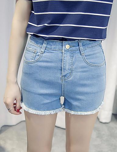 בגדי ריקוד נשים פשוט כותנה שורטים מכנסיים אחיד / קיץ