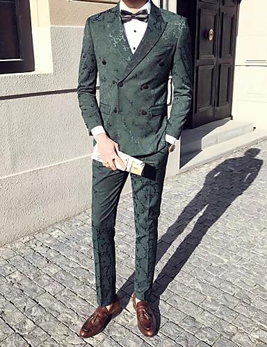 דפוס פעיל מתוחכם סגנון רחוב חליפות-בגדי ריקוד גברים