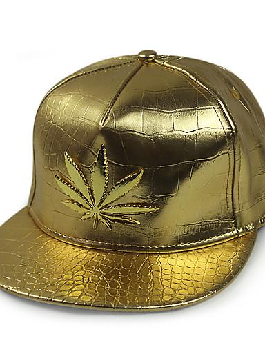 כובע שמש כובע בייסבול - אחיד פוליאוריתן מסיבה יוניסקס