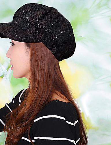 כובע כומתה (בארט) כובע עם שוליים רחבים כובע שמש כובע קסקט כובע בייסבול - דפוס כותנה פוליאסטר עבודה יוניסקס