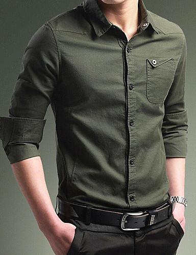 אחיד רזה וינטאג' חולצה - בגדי ריקוד גברים בסיסי