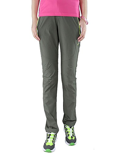 cheap Hiking Trousers & Shorts-Women's Camo Hiking Pants Outdoor UV Resistant Breathable Quick Dry Stretchy Summer Spandex Pants / Trousers Hunting Hiking Outdoor Exercise Blue Grey XXL XXXL 4XL