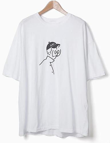 T-shirt Męskie Podstawowy Bawełna Okrągły dekolt