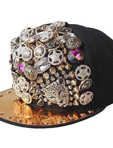 כובע שמש כובע בייסבול - אחיד גיאומטרי כותנה פוליאסטר מסיבה יוניסקס