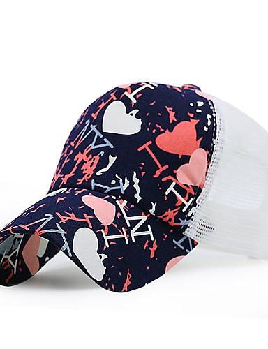 כובע בייסבול / כובע שמש - קולור בלוק כותנה עבודה יוניסקס