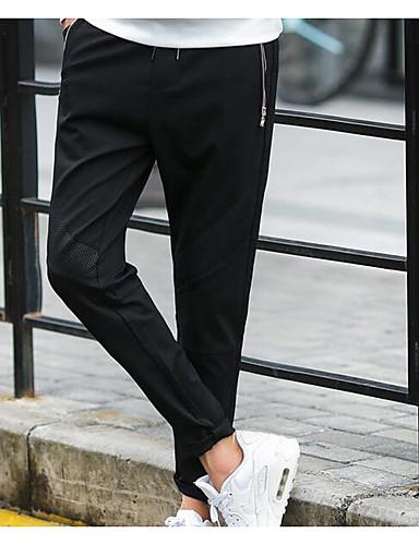 בגדי ריקוד גברים כותנה פשתן הארם מכנסיים אחיד