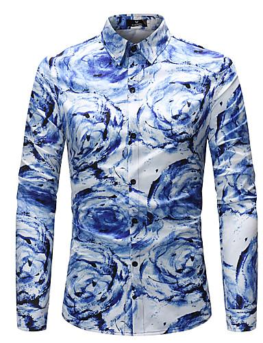 קשת בוהו חולצה - בגדי ריקוד גברים / שרוול ארוך