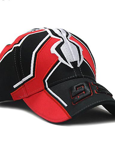 כובע שמש כובע בייסבול - קולור בלוק כותנה עבודה בגדי ריקוד גברים