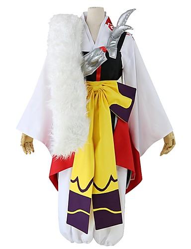 povoljno Anime kostimi-Inspirirana InuYasha Sesshomaru Anime Cosplay nošnje Japanski Cosplay Suits Other Dugih rukava Mellény / Hlače / Luk Za Muškarci / Žene